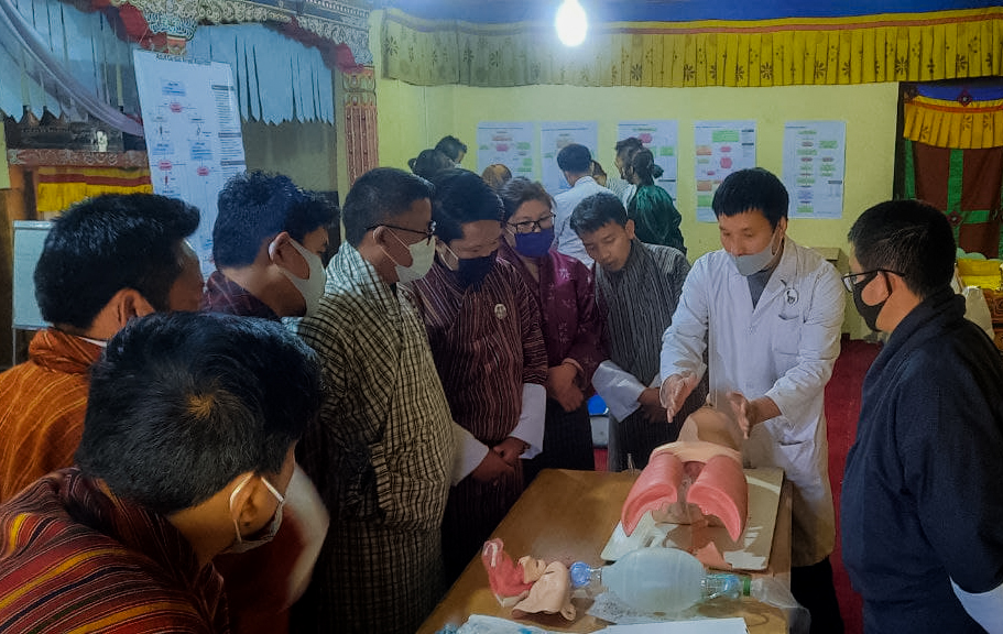 Health Officials Trained on Basic Life Support and Advanced Cardiac Life Support in Mongar