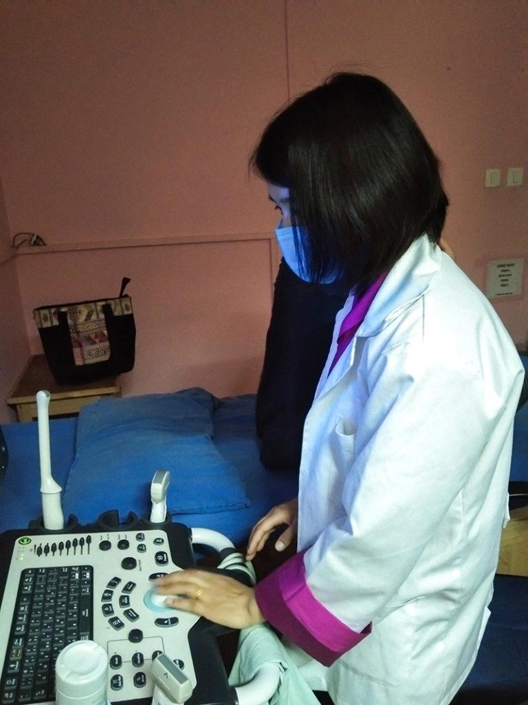 Radiography Training, Wangdicholing General Hospital, Bumthang