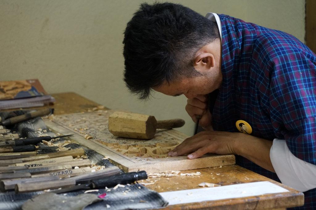 Carving at Wangsel Institute, Small grants