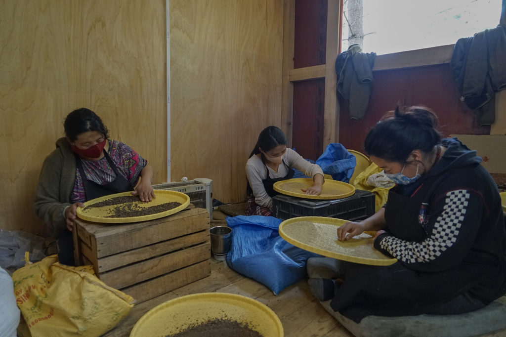 People at work in Chuniding Food
