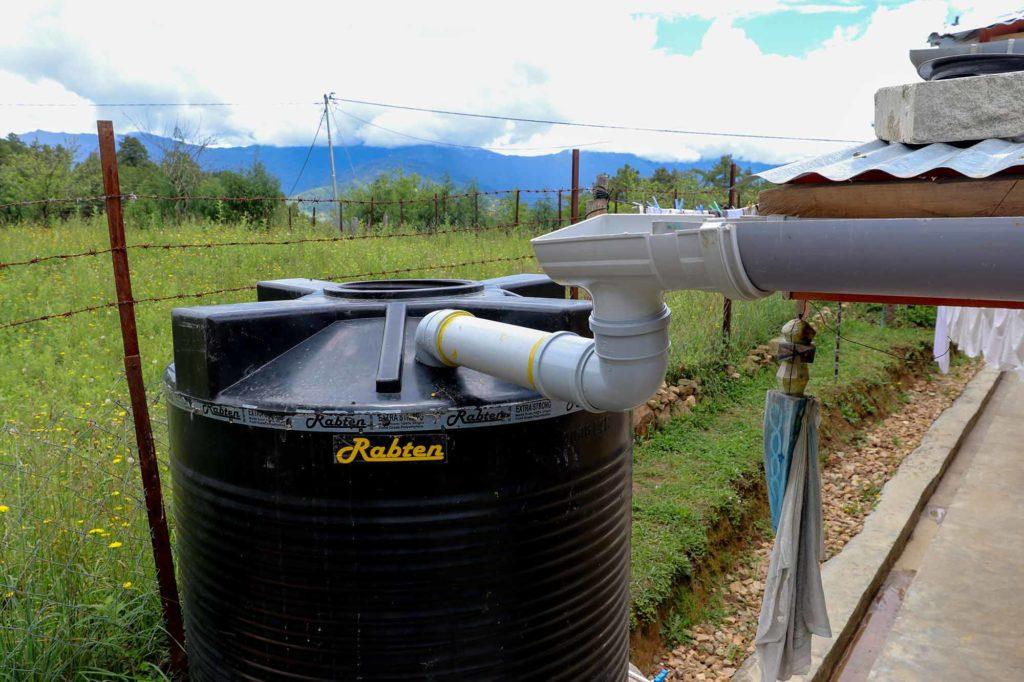 rainwater supply
